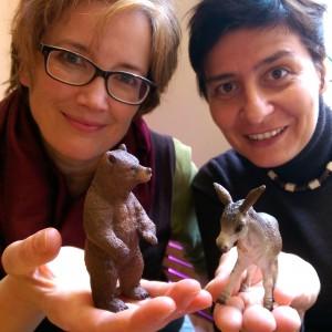 Baer und Esel_ Christine und Stephanie_quadratisch