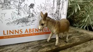 Esel und Buch