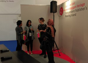 Podium_indonesische Verlegerinnen